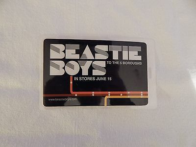 """BEASTIE BOYS """"To The 5 Boroughs"""" PROMO ONLY STORE LANYARD! NEW! ONLY ONE ON eBAY"""