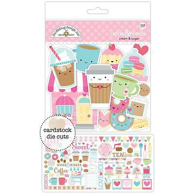 Doodlebug ~ CREAM & SUGAR ~ Odds & Ends Die Cuts
