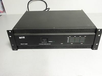 AUDIOPOLE MULTI 400 Amplificateur 4 canaux 170W/4Ω 140W/8Ω