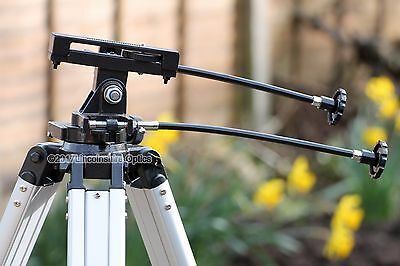 Skywatcher AZ3 Alt-Az mount with tripod adapter plate and slow motion controls