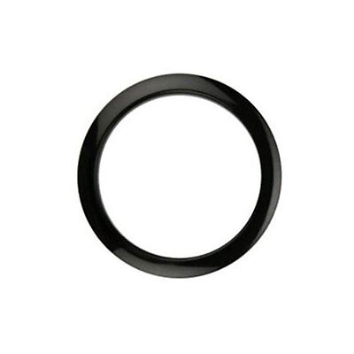 Code Bass drum hole protector 5 inch in black