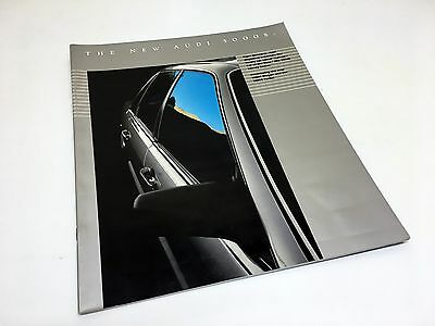 1984 Audi 5000 S Sedan Wagon Turbo Brochure USA