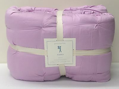 POTTERY BARN KIDS Audrey FULL/QUEEN Quilt, LILAC, BRAND NEW
