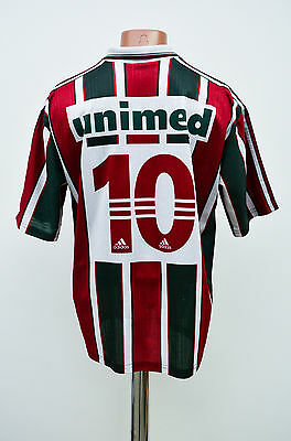 Fluminense Brazil 1990's Home Football Shirt Jersey Camiseta Adidas #10