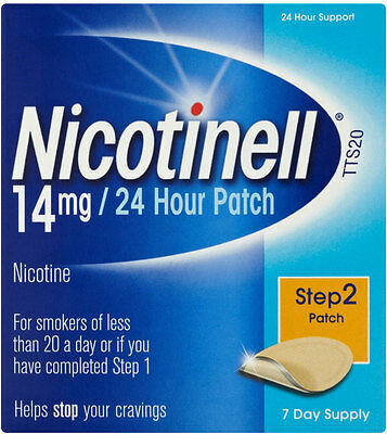 Nicotinell Nicotine 14mg 24 Hour Patches Step 2 (7)
