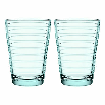 NEW Set of 2 Water Green Iittala Aino Aalto Highballs