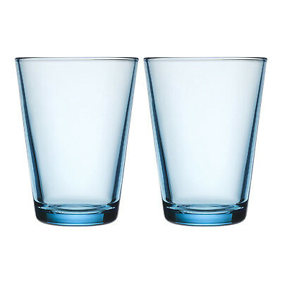 NEW Set of 2 Light Blue Iittala Kartio Highballs