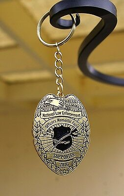 National Law Enforcement Officers Memorial Fund Supporter 2016 Eagle Keychain