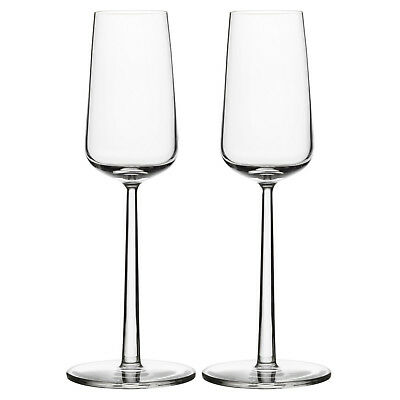 NEW Set of 2 Iittala Essence Champagne Flutes
