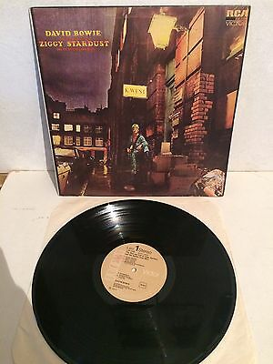 David Bowie - Ziggy Stardust LP Vinyl 1st Ita Press LPS4702 RCA EX/EX