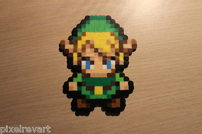 Link Pixel Art Bead Sprite from the Legend of Zelda Series