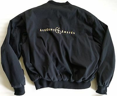1994 Academy Awards 66th Annual Jacket Lined Black Oscar Vtg L Large Original