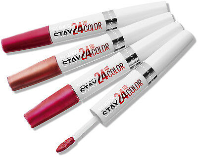 Maybelline SuperStay 24 Hour Lipstick Various Shades
