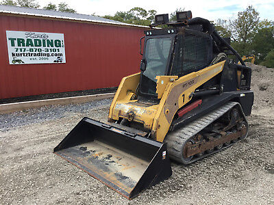 2008 ASV PT100 Tracked Skid Steer Loader w/ Cab!