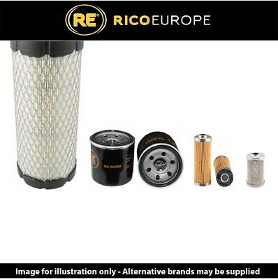 Volvo EC20C Filter Service Kit Air, Oil, Fuel Filters Yanmar Engine