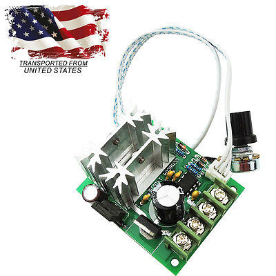 6-30V 20A 600W Max PWM HHO DC Motor Variable Speed Controller Switch Regulator