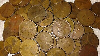 1909-1929 PDS Teens And Twenties Dated Lincoln Wheat Cent Penny Roll