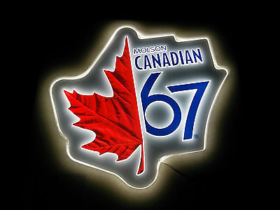 Molson Canadian 67 LED Bar Light Sign