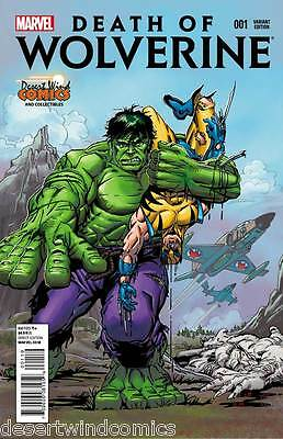 Death Of Wolverine #1 & #4 DWC Herb Trimpe Variant Cover Combo Deal