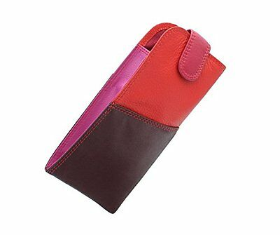 Visconti RB106 Soft Leather Multi-Color Eye Glasses Pouch Sunglasses Case Holder