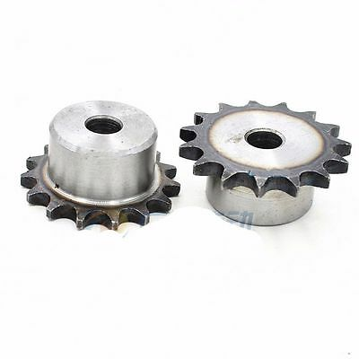 "#25 Chain Drive Sprocket 25T Pitch 1/4"" 6.35mm 04C25T For #25 Roller Chain"