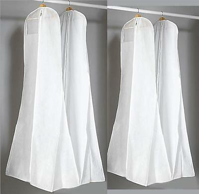 Wedding Dress Dust Cover Extra Large PVC180*80 Wedding Bride Gown Garment Bag