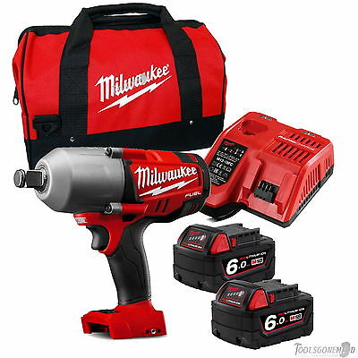 "Milwaukee M18Chiwf34-0 Fuel Brushless 3/4"" High Torque Impact Wrench Kit 6.0Ah"