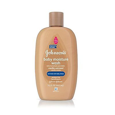 Johnsons Baby Vanilla Oatmeal Baby Bath Wash, 15 fl. oz.