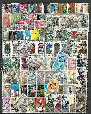 SPAIN 1964 COMPLETE YEAR STAMP COLLECTION 93 Values Mint Never Hinged