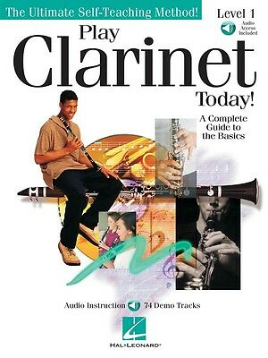 Play Clarinet Today! - Level 1 - Clarinet Music Book with Audio Access