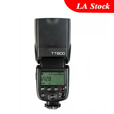 Godox TT600 Flash Light Speedlite for Nikon Canon Olympus Pentax Casion Fuji