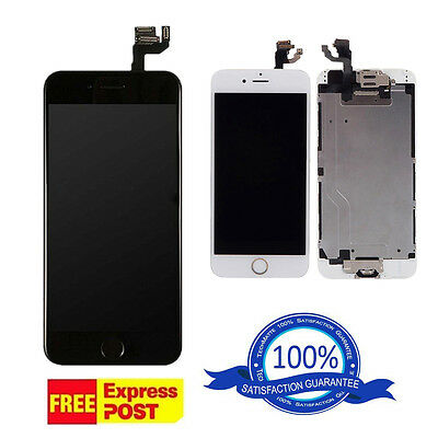 iPhone 6S Plus Replacement Digitizer LCD Touch Screen & Home Button & Camera B&W