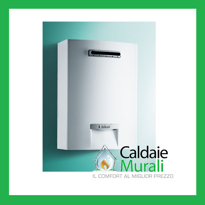Scaldabagno A Gas Vaillant Per Esterno Outsidemag 128/1-5 Rt Low Nox 12 Lt