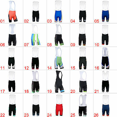 2017 New Mens Cycling Bib Shorts Riding Brace Tights Pants Bike MTB Sportswear