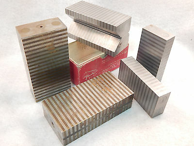 4 MAGNETIC PARALLELS and MAG VEE BLOCK GUARANTEED AND RETURNABLE