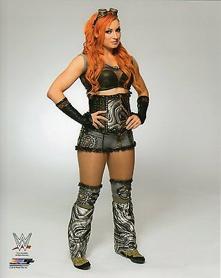 """WWE PHOTO BECKY LYNCH OFFICIAL STUDIO WRESTLING 8x10"""" PROMO"""
