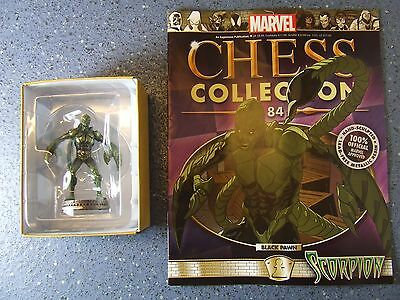 Marvel Chess Collection no.84 Scorpion Black Pawn
