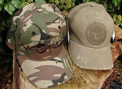 Korda Caps / Hats / All Colours Inluding Camo For Carp / Match Fishing