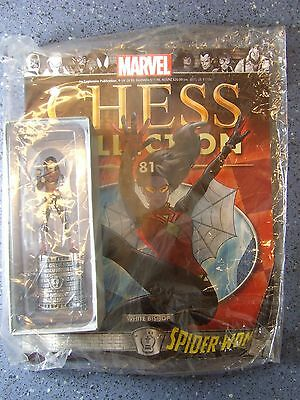 Marvel Chess Collection No. 81 Spider Woman White Bishop