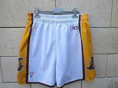 Short basket LOS ANGELES LAKERS Champion USA NBA vintage collection L