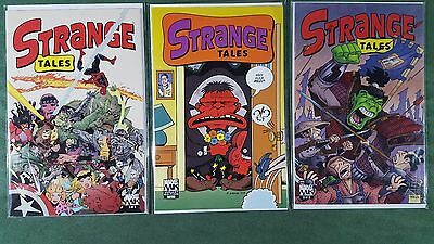 Strange Tales 2001 #1-3 Variant #2 Complete Series Set nm Marvel Knights