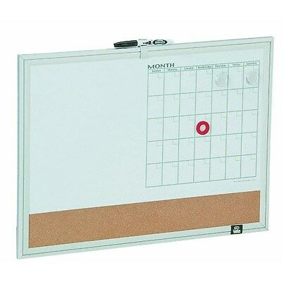 Aluminum Framed 3 in 1 Magnetic Board,Part 79293
