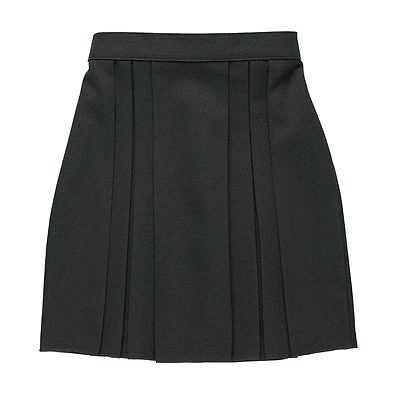 Zeco School Uniform Girls Six Pleat Half Elastic Waist Skirt 3-13 Years(GS3008)