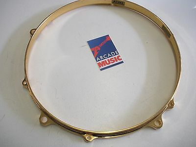 "Tama Star-Cast MDH13-6FH 13"" Die Cast Hoop 6 Hole Gold"