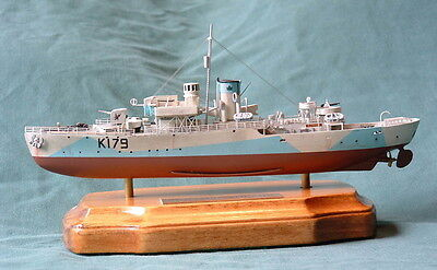 1/350 HMCS Sackville 1940/41 Canadian long forecastle Flower Corvette Resin Kit