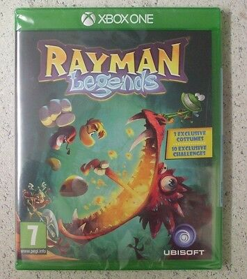 XBOX ONE RAYMAN Legends NEW SEALED