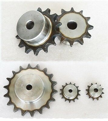 "#35 Chain Sprocket 25/26/27/28/29/30/31/32T Pitch 9.525mm For #35 06B 3/8""Chain"