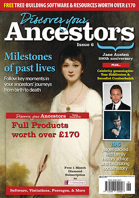 Discover Your Ancestors Issue 6 - Family History / Genealogy Magazine