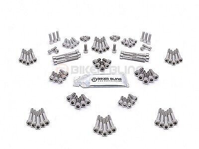 Honda ST1100 Pan Euro 1990 stainless steel engine casing case motorcycle bolts