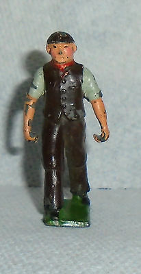 """Vintage Lead Johillco """"Farmer"""" Excellent Condition Free Shipping"""